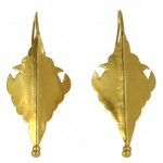 Gold Shield Earrings FULL.